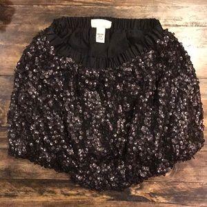Target sequins skirt