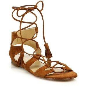 Old Navy Suede Gladiator Sandals