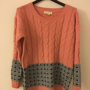 Urban Outfitters Staring at Stars coral sweater.