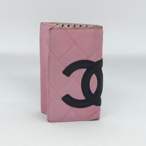Authentic Chanel Cambon Key Holder