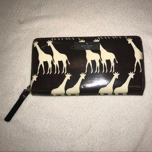 Kate Spade Giraffe Lacey Wallet