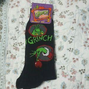 Grinch socks