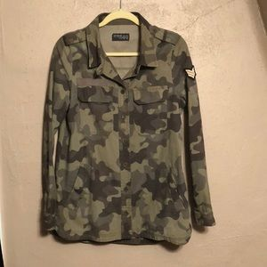 cotton on army jacket