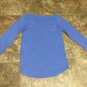 Lilly Pulitzer Long Sleeve Pima Cotton Shirt Sz S