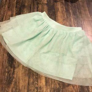 Mind green tutu skirt