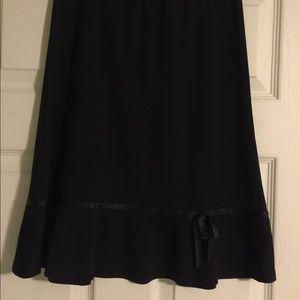Girls Cato's Black Skirt
