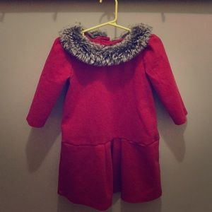 Janie and Jack Red Dress perfect for Holidays!