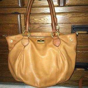 J crew leather purse