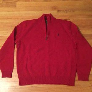NWT Polo 100% Lambs Wool Sweater XL