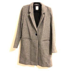 Zara Grey Pea Coat
