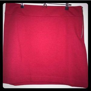 Make an offer! CHERRY RED skirt, 14, NWT Orig $69