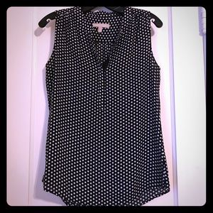 Black & White Polka Dot Blouse