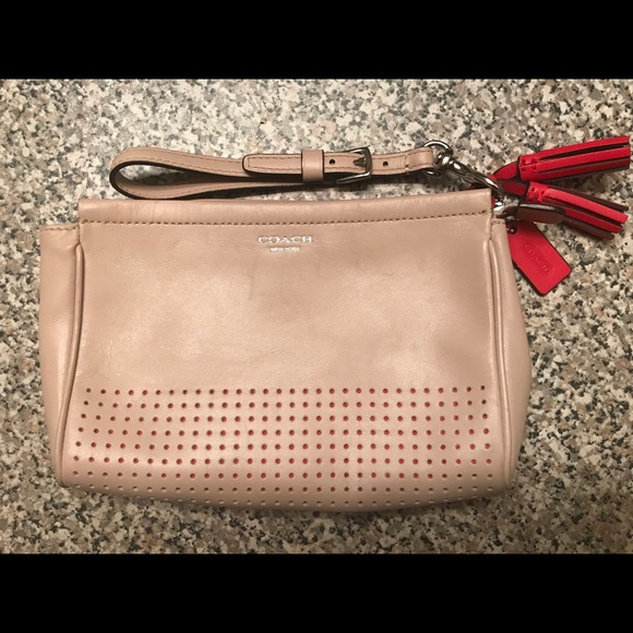 Coach Handbags - Coach Legacy Perforated Wristlet/Clutch (48957)