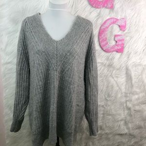 Banana Republic Wool Blend Chunky Knit Sweater