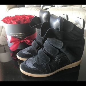 Isabel Marant Beckett Sneakers Black