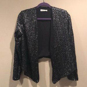 Abercrombie and Fitch sequin blazer