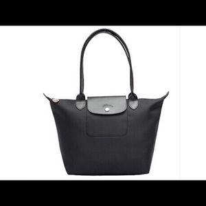 Longchamp Le Pliage Neo Small Tote Black New