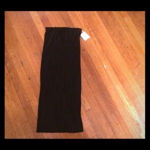 Zara Trafaluc Midi Ribbed Pencil Skirt, Size S