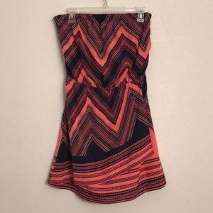 Express women's strapless dress