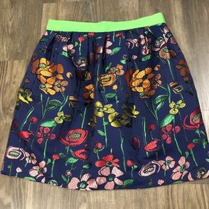 Anthropologie Madchen Garden of the Spectrum Skirt