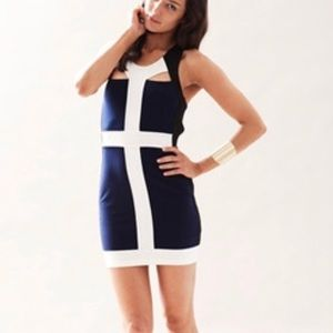 Keepsake the label have it all colorblock dress