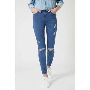Topshop Moto Distressed Jamie Tall Jeans