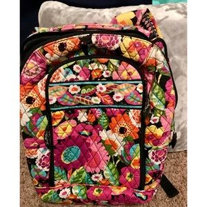 Vera Bradley Laptop Backpack - EUC