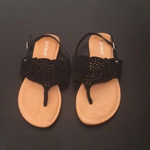 BAMBOO sandals size 7.5
