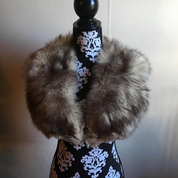 Fox fur collar Norwegian Fox fur collar