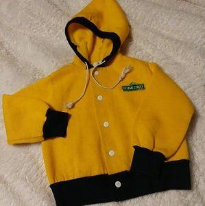 Vintage kids Sesame Street hooded sweatshirt
