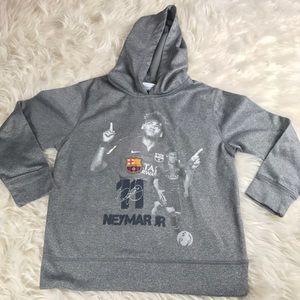 Neymar Jr. Barcelona sweatshirt medium soccer FC