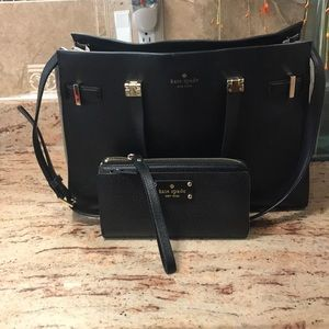 Kate Spade handbag with matching Wallet