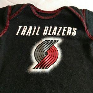 Other - NBA Trailblazers Infant Onesie