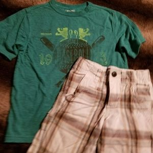 Other - Boys shorts shirt matching set