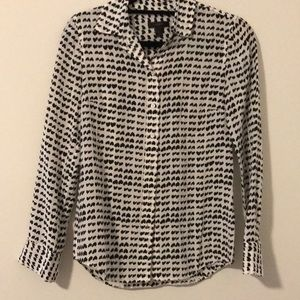 JCrew Silk 🖤 Button Down Shirt
