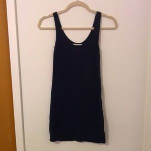 Forever 21 navy blue body con dress