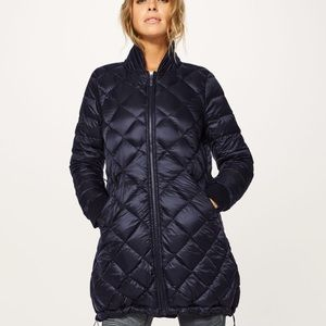 "Lululemon ""Fluff the Cold"" down coat"