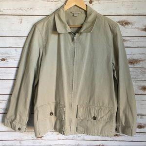 J. Crew Trench Style Jacket