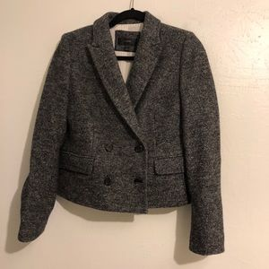 J. Crew Wool Cropped Pea Coat