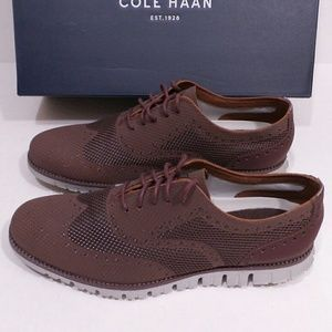 Cole Haan 10.5 Mens ZeroGrand Oxfords New With Box