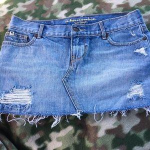 Girls Abercrombie Denim skirt
