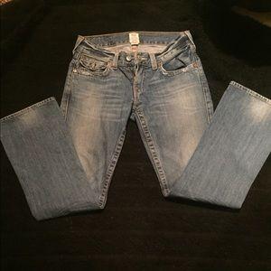 True Religion Boot Cut Jeans, Size 30