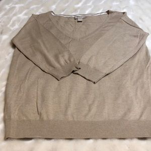 Banana republic silk/cotton blend sweater