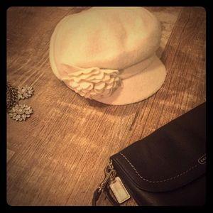 Nine West flower hat