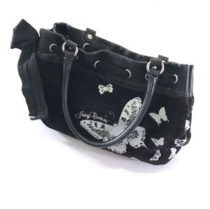 Juicy Couture Black Butterfly Tote