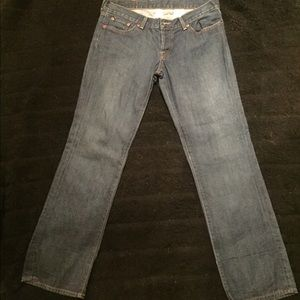 Lucky Brand, Cuffed Dream Crop Jeans, Size 10/30