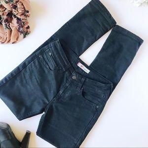 Levi's Men's Slim Fit 417 Black Jeans