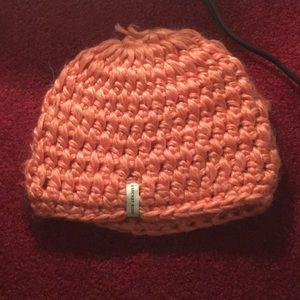 Crochet knit hat