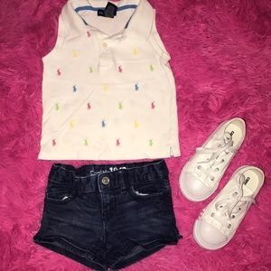 Other - Little girls shorts and top set.