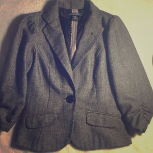 Kohl's light brown tweed blazer